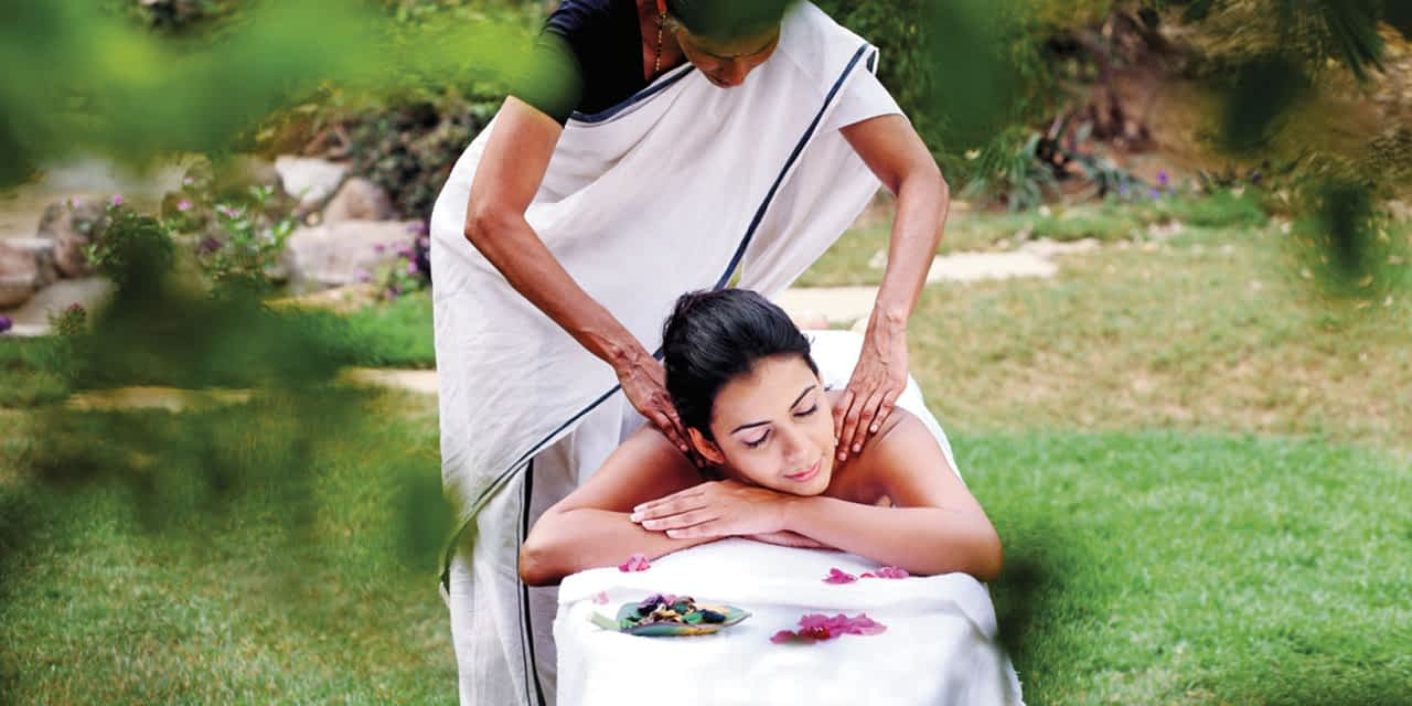 Abhyanga Massage – Liebende Hände