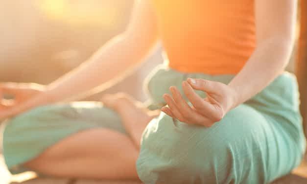 Yogapraxis im Frühjahr