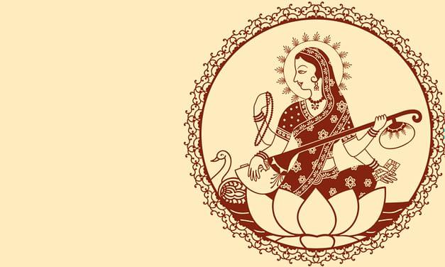 Indische Göttersagen – Sarasvati