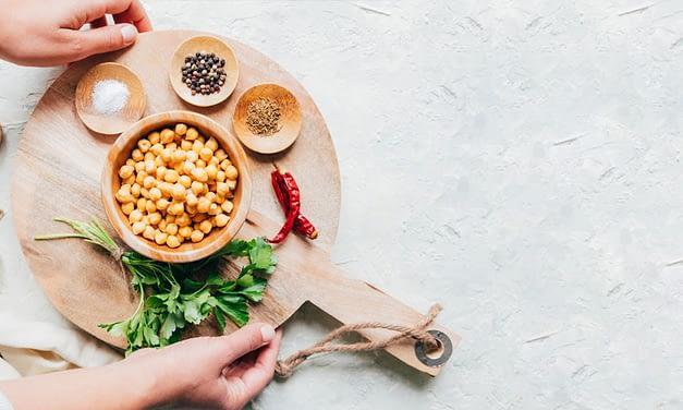 Kichererbsen-Curry mit Mangold